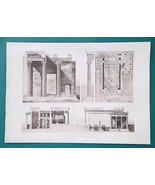 ATHENS Acropolis Erechtheion Existing & Restored Views - 1905 Heliogravu... - $30.60