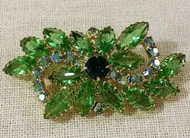 Vintage Green Brooch - $15.84