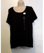 Charter Club New Scoop Neck Pima Cotton Top Size 0X - $13.97
