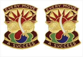 Genuine U.S. Army Crest: 3RD Transportation Agency (Every Move A Success) - $19.78