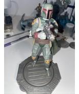 "Star Wars Boba fett 6"" rotating Figure Hasbro/ Without Box - $9.50"