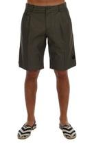 New $390 Dolce & Gabbana Men Gray Cotton Crown Shorts Size IT 54 XL - $143.73
