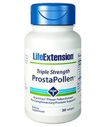 2 PACK Life Extension Triple Strength ProstaPollen prostate bladder one a day - $33.00