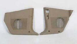 BMW E32 Parchment Tan Front Lower Kick Panels Speaker Covers Beige 1991-1994 OEM - $34.65