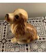 Buff Tan Brown Cocker Spaniel Figurine 6 Inch Dog Decorative Collectible... - $9.99