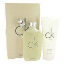Calvin Klein CK One 6.7 oz EDT Spray + 6.7 oz Body Moisturizer Gift Set image 6