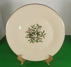 Lenox PRESIDENTIAL SPECIAL ONE Dinner Plate Holiday Small Decal Coupe Rim - $24.70