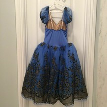 ROYAL TUTU DRESS Blue Sz L Pageant Dance - $74.25