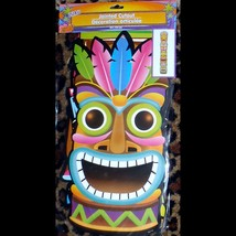 Life Size Jointed Tropical TIKI TOTEM Luau Party Voodoo Wall Door Decora... - $8.88