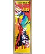 No Alibi DD20-1/2 Dolphin Delight 1/2 oz Cable Rigged Silver Red Black Lure - $8.00