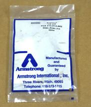 NEW ARMSTRONG B1670-5 PCA 212,812,882 22dc, 82DC, TVS 200# 1/8 ORIF. image 1