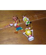 Vintage to Now Lot of 3 Plastic Disney Goofy Santa Tweety Bird & Yellow ... - $9.49