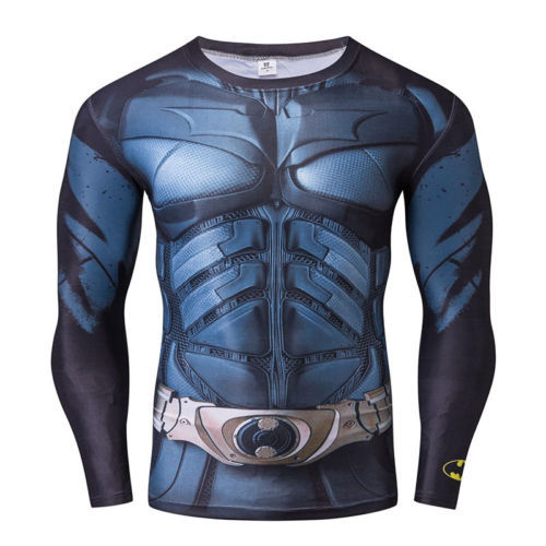 12. 12. Previous. Mens Compression Long Sleeve T-Shirt Marvel DC Comic  Cycling Jersey Tops · Mens ... 62e57887c