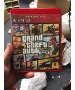 Grand Theft Auto V (PlayStation 3, 2013) Red Label/Red Case - $14.95