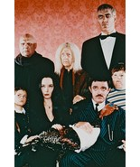 The Addams Family Tv Cast Pose Together 24x18 Poster - $23.99