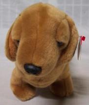 Ty Beanie Buddy Tan Weenie The Weiner Dog Dachshund Plush Stuffed Animal Toy New - $24.74