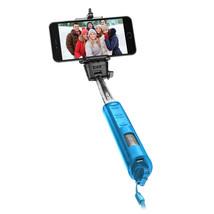 Selfi Sticks, Blue 40 Inch Telescoping Extendable Monopod Bluetooth Self... - €9,45 EUR