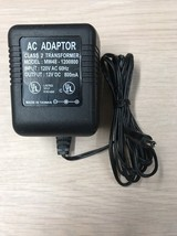 MW48-1200800 AC/DC Power Supply Adapter Charger Output 12V DC 800mA         (L8)