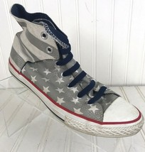 Converse All Stars High Tops Juniors Stars & Stripes Chuck T Size 6 box5 - $20.36