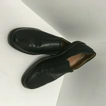 ECCO Mens Hoton Slip On Black Leather Loafers Size 11-11.5 US 45 EUR  EUC - $46.74