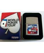 Sharp Retired 2006 WPT Big Slick Poker Zippo Lighter - $28.45