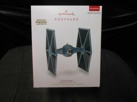 "Hallmark Keepsake ""Tie Fighter - Star Wars"" 2018 Light/Sound Ornament US... - $33.41"