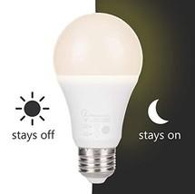LumenBasic LED Dusk to Dawn Bulb, 60 Watt Incandescent Equivalent, Warm ... - $11.00