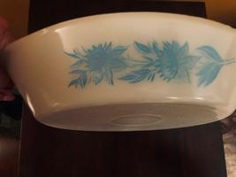 "Glasbake Divided Dish Thistle Pattern J-2352 USA 12"" x 8-1/2"" - $25.74"