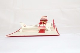 Airplane Jet Birthday Pop Up Greeting Card Handmade Happy Birthday Anniv... - $4.99