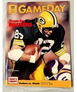 Green Bay Packers..GAMEDAY PROGRAM...VS..Giants..Sept. 15, 1985 - $12.86