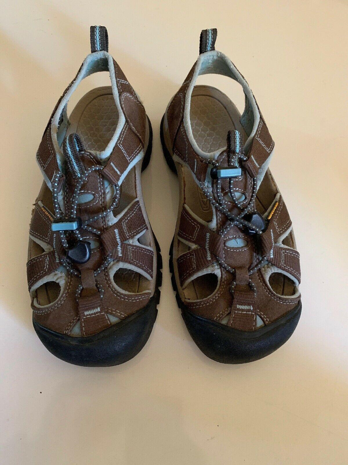 Women's Keen Sport Sandals Size 7 Water Shoes 1008020 Waterproof brown image 11
