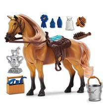 Sunny Days Entertainment Blue Ribbon Champions Deluxe Horse: Quarter Hor... - $20.53