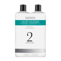 Nioxin System 2 Cleanser & Scalp Therapy Liter Duo - $56.52