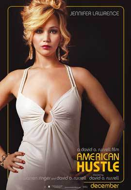 JENNIFER LAWRENCE POSTER 27x40 INCHES AMERICAN HUSTLE PIN UP RARE