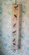 6 SCANDINAVIAN BIRDS Handembroidered Long Tapestry from Sweden - £31.36 GBP