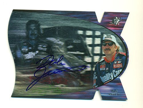 1997 SPx Dale Jarrett On Card Autograph AUTO SP NASCAR Auto Racing