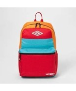 "Umbro 18"" Colorblock Backpack - Red/Blue/Orange - $29.70"