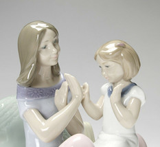 Nao by Lladro 02001668 PAT A CAKE Porcelain Figurine Glased New  - $173.25