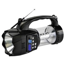 QFX Emergency Flashlight/Lantern with FM Radio USB/SD and Recording Buil... - $43.25