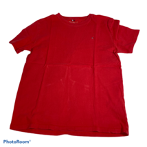 Tommy Hilfiger Kids Junior Classic Short Sleeve Red  T Shirt Size XL (16-18) EUC - $5.94