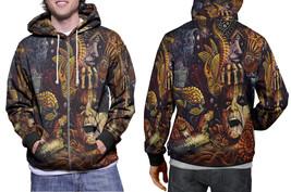 hoodie men's zipper Alice cooper - $48.99+