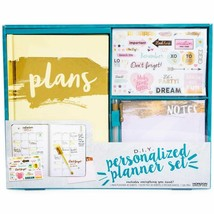 DIY personalized planner set - gold w - $14.99