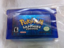 POKEMON SAPPHIRE Gameboy Advance NINTENDO GAME EUC Pre-owned  - $17.07