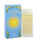 Light Blue Sun by Dolce & Gabbana Eau De Toilette Spray 1.7 oz - $60.95