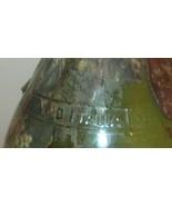 VINO D ITALIA VINTAGE GLASS BOTTLE GREEN COLOR WINE BOTTLE  W/SPIGOT MAP - $17.10