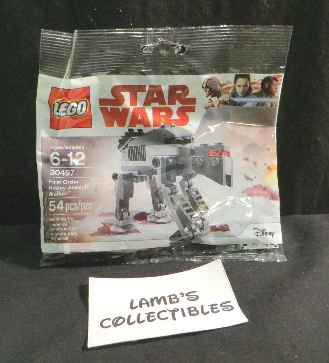 Primary image for Lego Star Wars 30497 First Order Heavy Assault Walker 54 pieces building blocks