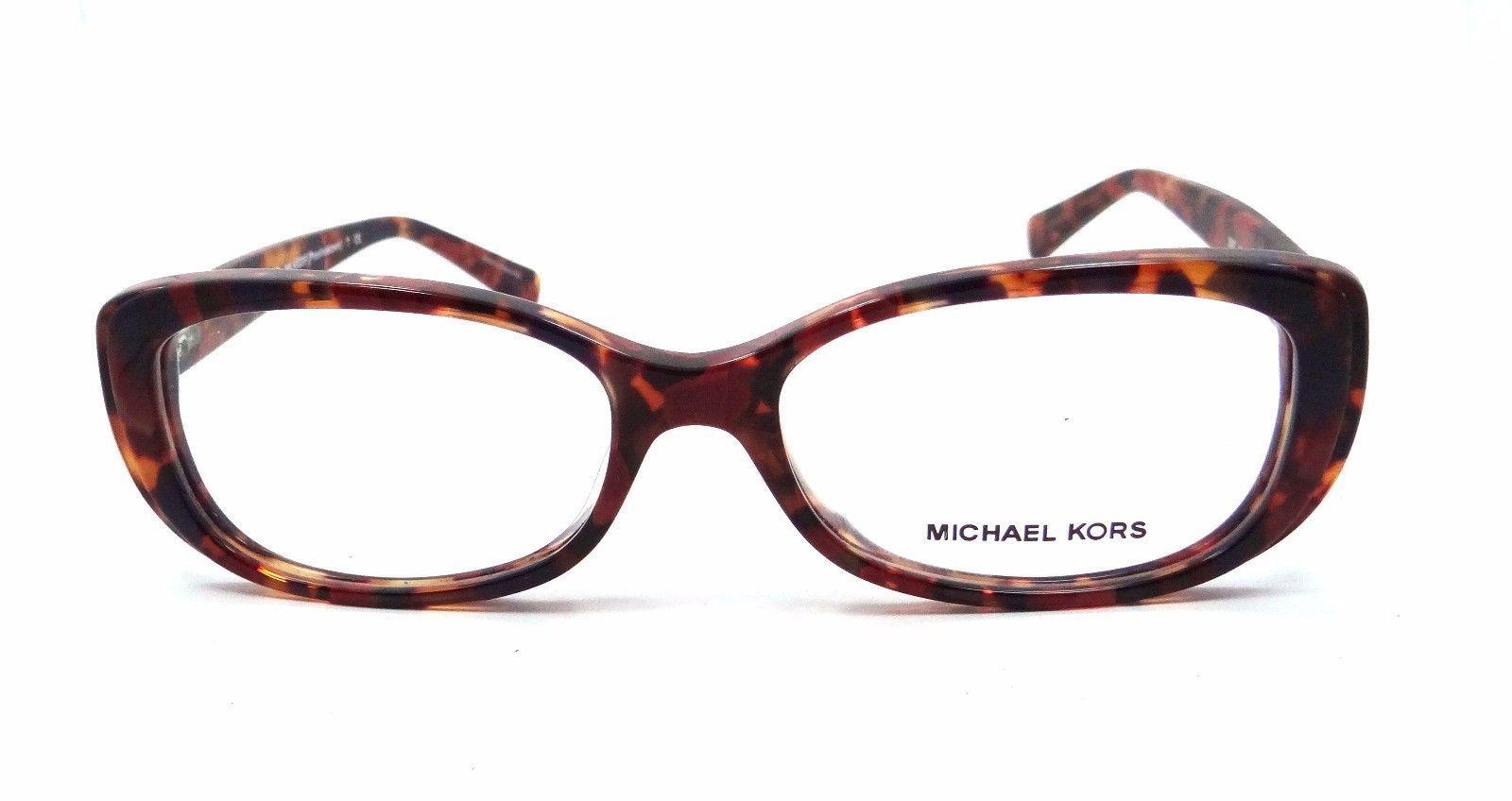 Michael Kors Rx Eyeglasses Frames MK 4023F 3067 Province Town 54x16 Red Tortoise