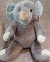 "Build A Bear Workshop BABW Gray Elephant Stuffed Plush 15"" B61 - $28.64"