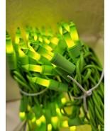 St Patrick's Day String Lights Green Cord 70 Mini String Lights Decorati... - $16.82