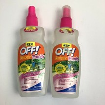 off deet mosquito repellent skintastic Family spray 6 Oz Lot Of 2 Bottles - $34.64